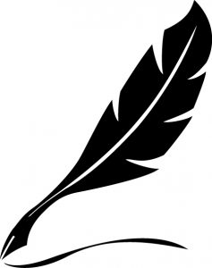 illustration of a writers quill